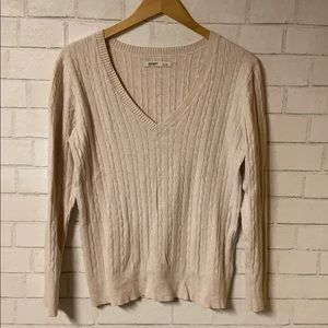 Old Navy Women's Cable Knit Sweater (L)
